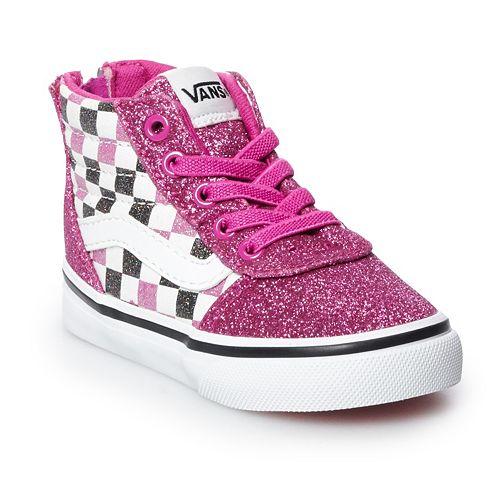 Vans Vans Ward Hi Zip Toddler Skate Shoes