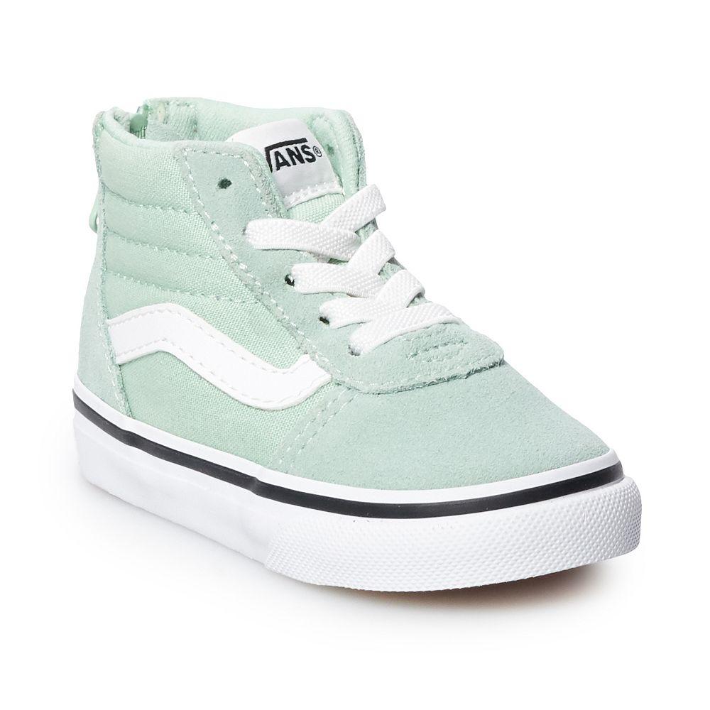 Vans® Ward Hi Zip Toddler Skate Shoes