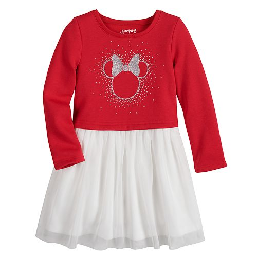 Disney's Minnie Mouse Toddler Girl Graphic Tulle Dress by Jumping Beans®
