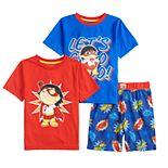 Boys 8-20 Ryan's World Tops & Shorts Pajama Set