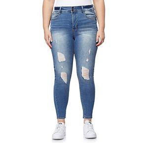 Juniors' Plus Size WallFlower Luscious Curvy Fashion Ankle