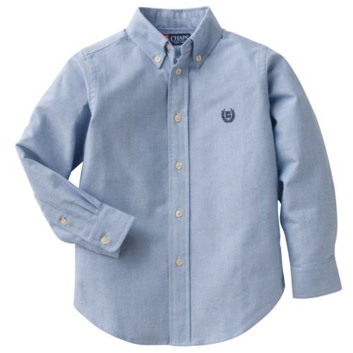 Chaps Solid Oxford Dress Shirt
