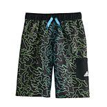 Boys 8-20 adidas Outline Camo Print Volley Swim Trunks