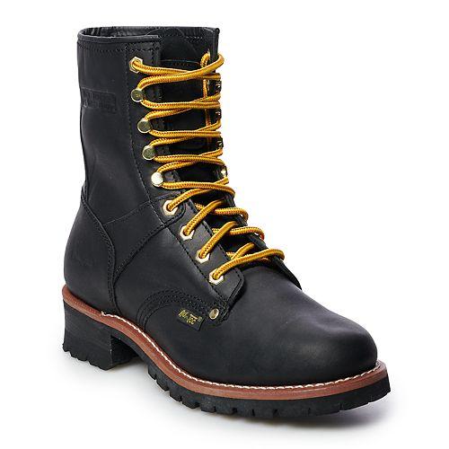 AdTec 1439 Men's Water Resistant Logger Work Boots