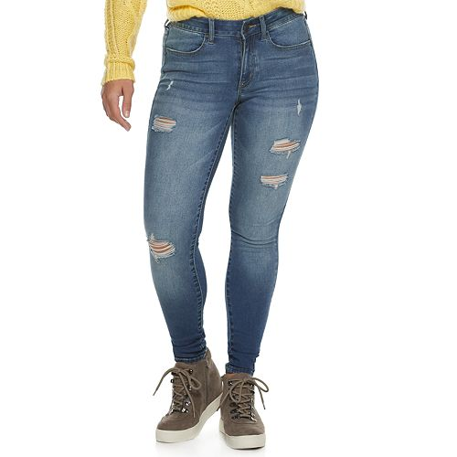Juniors' SO® Low-Rise Curvy Jeggings