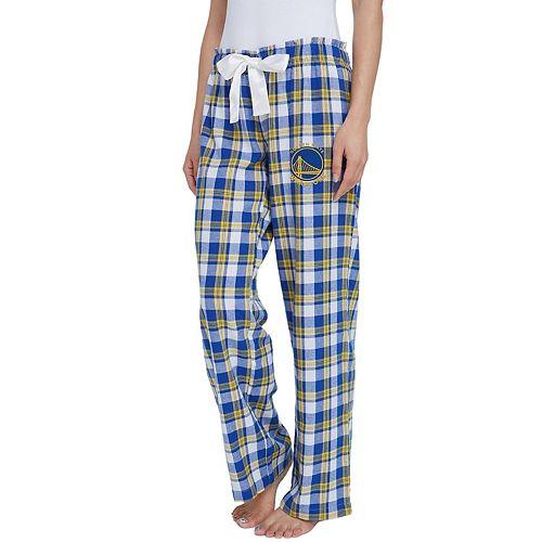 Women's Golden State Warriors Piedmont Flannel Lounge Pants