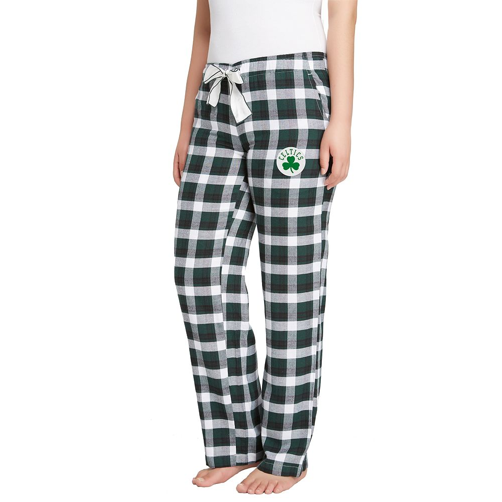Women's Boston Celtics Piedmont Flannel Lounge Pants