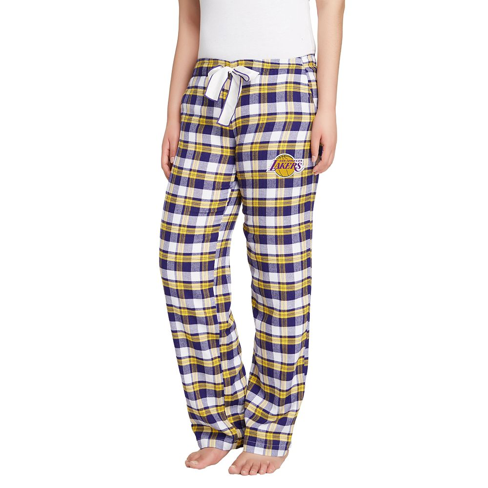 Women's Los Angeles Lakers Piedmont Flannel Lounge Pants