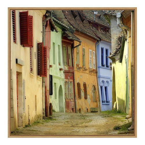 Amanti Art Colors Framed Canvas Wall Art