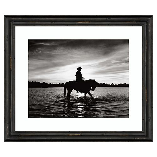 Amanti Art Silhouettes at Sunset Framed Wall Art