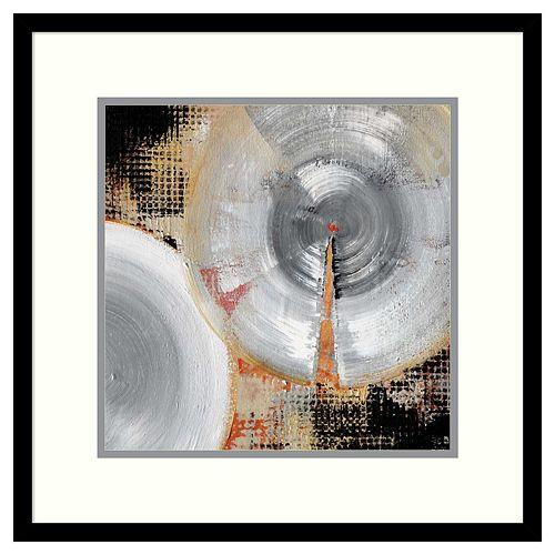 Amanti Art Circle Abstract II Framed Wall Art
