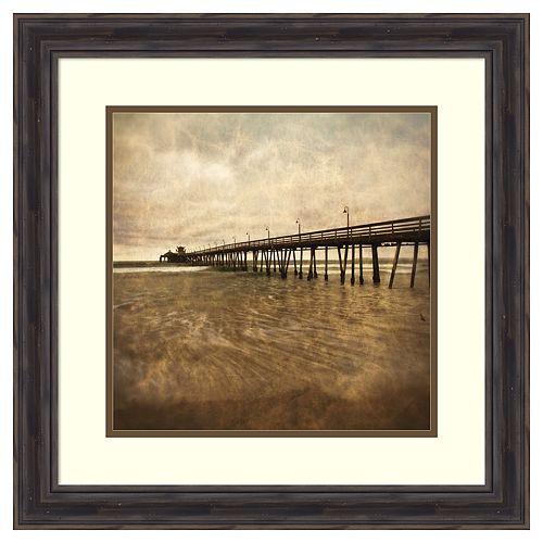Amanti Art Vintage Pier II Framed Wall Art