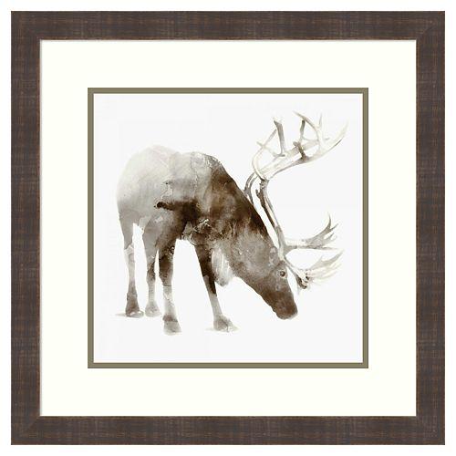 Amanti Art Caribou Framed Wall Art
