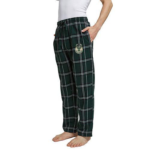 Men's Milwaukee Bucks Hillstone Flannel Pants