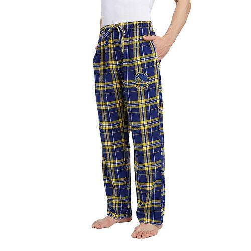 Men's Golden State Warriors Hillstone Flannel Pants