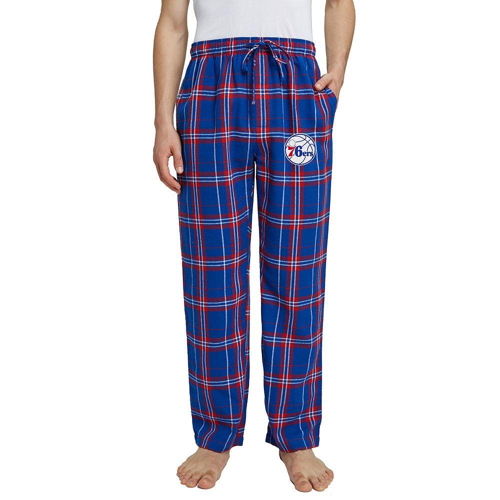 Men's Philadelphia 76ers Hillstone Flannel Pants