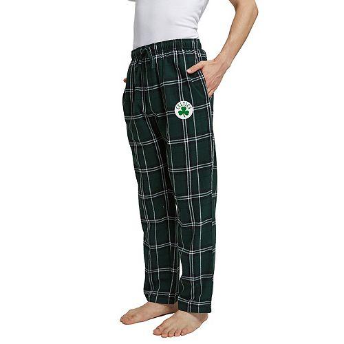 Men's Boston Celtics Hillstone Flannel Pants