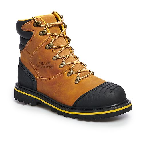 AdTec 9804 Men's Water Resistant Steel Toe Work Boots