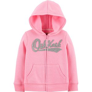 Toddler Girl OshKosh B'gosh® Glitter Logo Hoodie