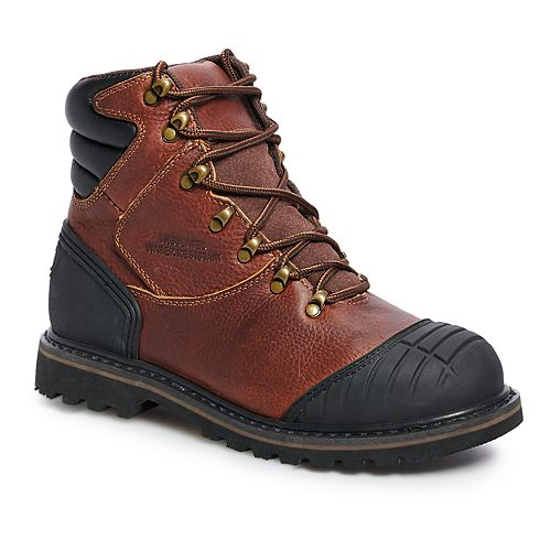 AdTec 9805 Men's Water Resistant Steel Toe Work Boots