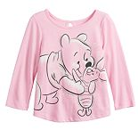 Disney's Winnie The Pooh Piglet & Pooh Baby Girl Graphic Tee by Jumping Beans®