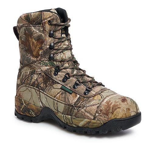 AdTec 9638 Men's Waterproof Realtree Work Boots