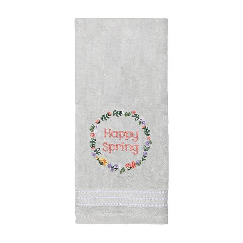 Easter Happy Spring Hand Towel