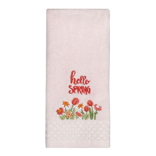 Easter Hello Spring Fingertip Towel