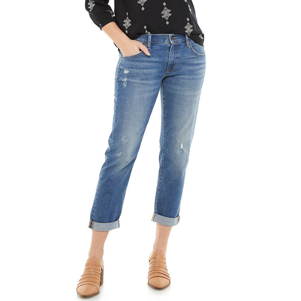 Women's SONOMA Goods for Life® Crop Straight-Leg Jeans