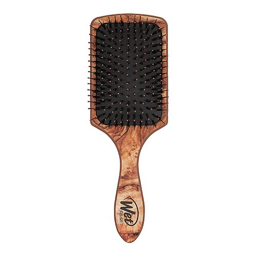 Wet Brush Paddle Shine with Argon Oil - Traditional Wood