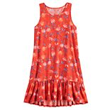 Girls 7-16 SO® Drop Waist Dress