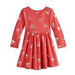 Disney's Minnie Mouse Girls 4-12 Shirred Skater Dress by Jumping Beans®
