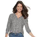 Women's SONOMA Goods for Life? Long Sleeve Button Down Top