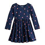 Toddler Girl Jumping Beans® Shirred Skater Dress