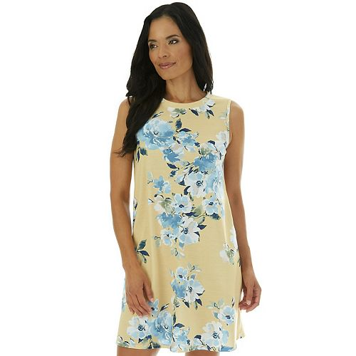 Women's Apt. 9® French Terry Sleeveless Swing Dress