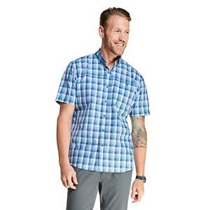 Men's G.H. Bass Bluewater Bay Plaid Button-Down Shirt