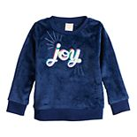 Toddler Girl Jumping Beans® Plush Sweatshirt