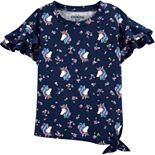 Toddler Girl OshKosh B'gosh® Ruffle-Sleeve Top