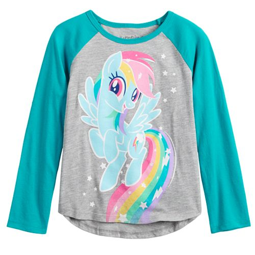 Toddler Girl Jumping Beans® My Little Pony Rainbow Dash Long Sleeve Tee