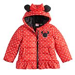 Toddler Girl Dreamwave Minnie Mouse Puffer