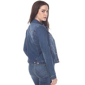 Women's White Mark Denim Jacket