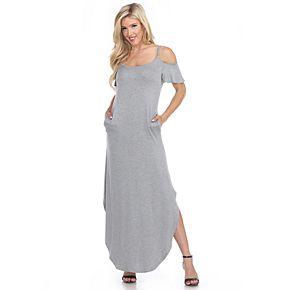 Women's White Mark Lexi Maxi Dress