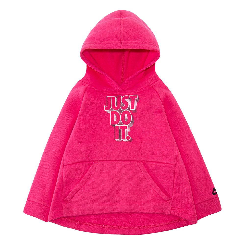 Toddler Girls Nike Lightweight Sueded Fleece Tunic Hoodie