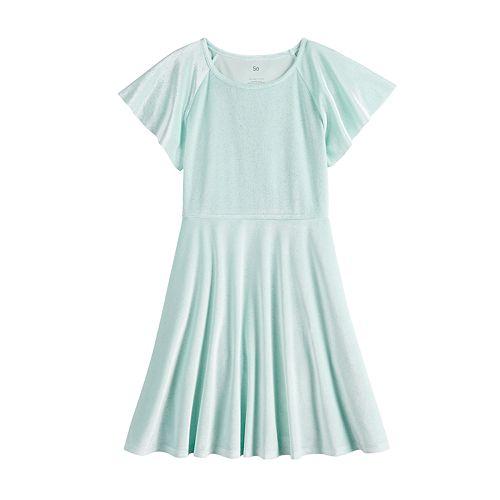 Girls 7-16 SO® Flutter Sleeve Dress
