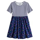 Girls 4-12 Jumping Beans® Raglan Sleeve Skater Dress