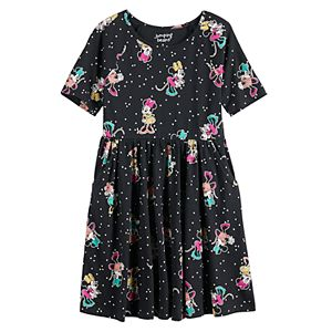 Disney's Minnie Mouse Girls 4-12 Print Skater Dress by Jumping Beans