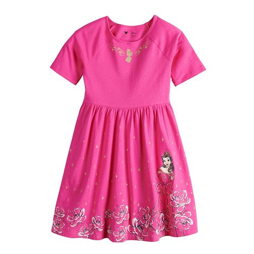 Disney's Beauty and the Beast Belle Girls 4-12 Skater Dress by Jumping Beans®