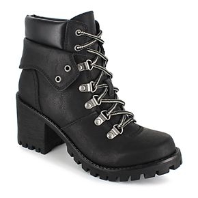 Unionbay Hike Women's High Heel Ankle Boots