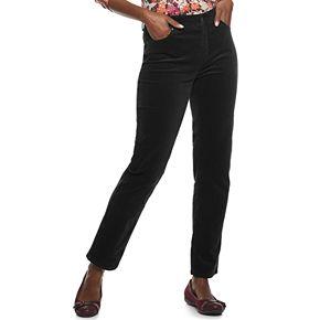 Women's Croft & Barrow® Straight-Leg Corduroy Pants