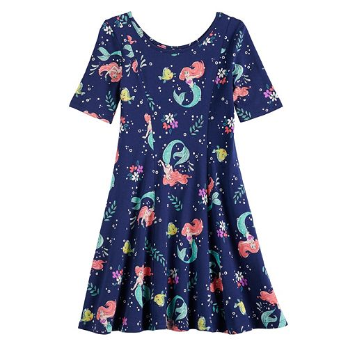Disney's The Little Mermaid Ariel Girls 4-12 Print Dress by Jumping Beans®